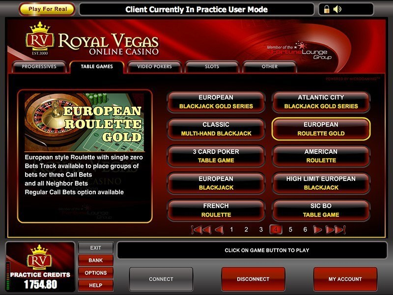 online casino test royal roulette